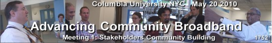 Advancing Community Broadband